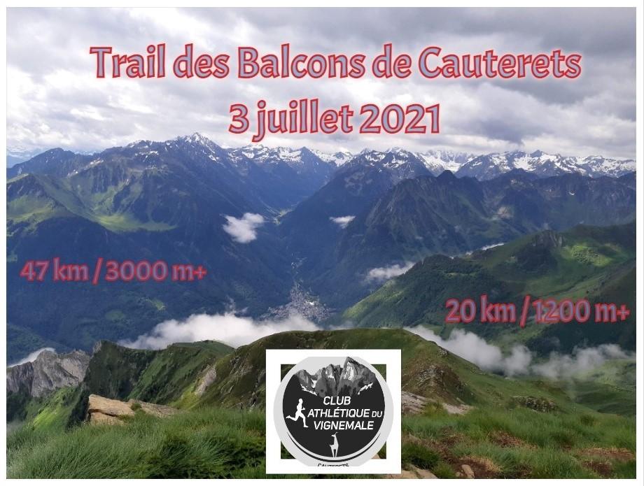 Trail des Balcons de Cauterets | 3 juillet 2021